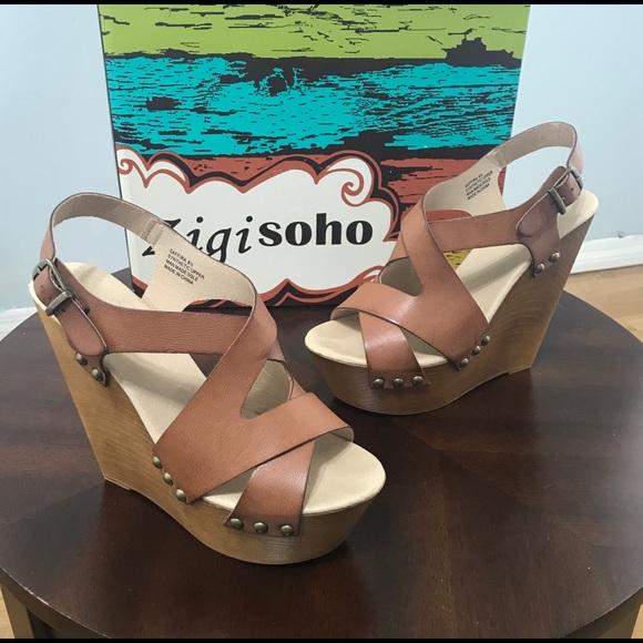 92351e09a386 Zigi Soho Women s Saffira Wedge Sandal Shoes 8.5. M 5cafb221689ebcdb3b46ae98